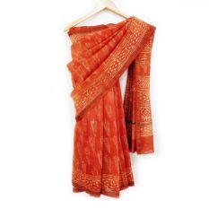 Beautiful Hand Block Print Saree