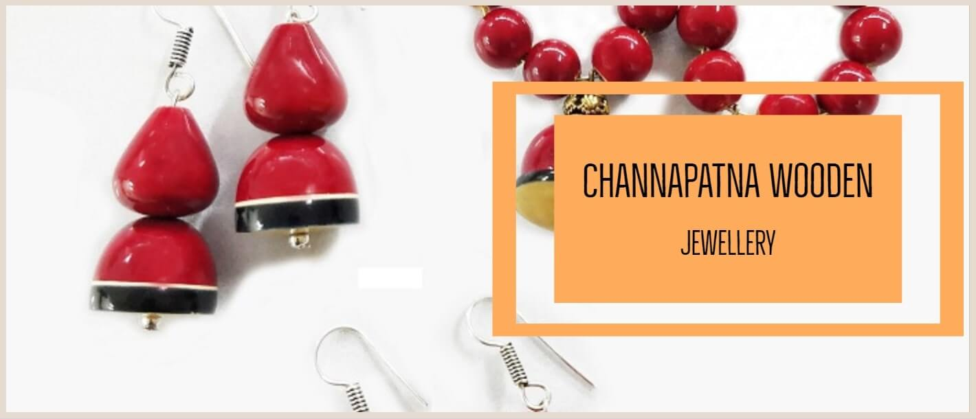 Channapatna Craft Wooden Jewelry