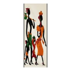 GiTAGGED Pipli Applique Tribal Family Wall Hanging 1